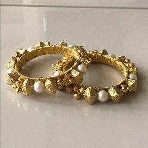 Final Sale- NWOT Indian bracelet set